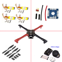 LHI fpv drone dron quadrocopter F450 Quadcopter Rack Kit Frame APM2.6 and 6M GPS 2212 1000KV HP 30A 1045 prop ~F4P01 helicopter