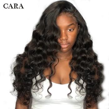250 צפיפות תחרה מול שיער טבעי פאות Loose גל פאה עבור נשים טבעי שחור ברזילאי פאה 13x4 תחרה מול רמי פאה קארה