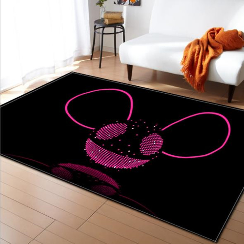 LIU tapis grand salon 3D personnalité Simple moderne nordique tapis chambre tapis Table à thé rectangulaire tapis de sol mode doux - 5