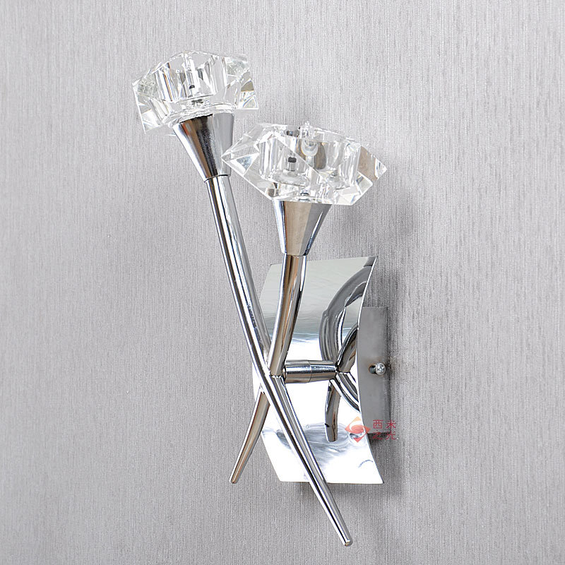 Modern corridor crystal wall / learning lamp bedside bedroom light aisle lighting mirror front lamps special price m стоимость