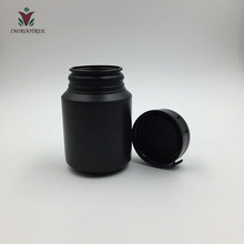500pcs 100ml Black HDPE Chewing Gun Container with Tear-off Caps