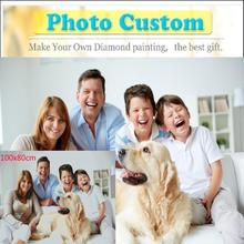 Great 5d diy diamond painting 5D Photo Custom full square/round life Photos accessories