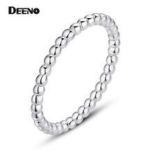 Фотография DEENO Fashion Style Fine Jewelry Silver Female Rings For Women Gift