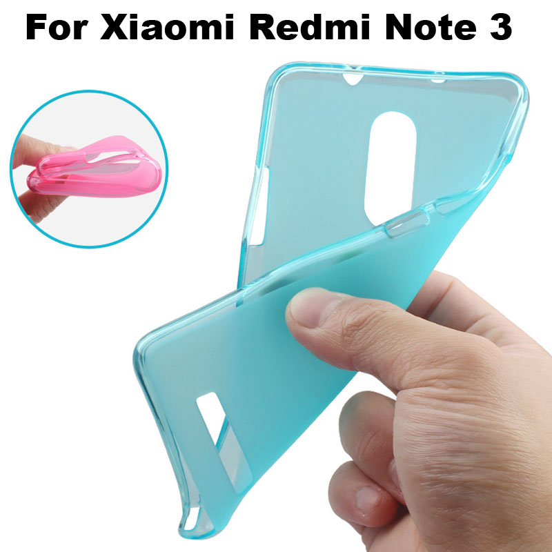 Xiaomi Redmi Note 3 Case Cover Matte TPU Soft Back Cover Phone Case For Xiaomi Redmi Note 3 Pro Back Cover Case (5.5 inch)