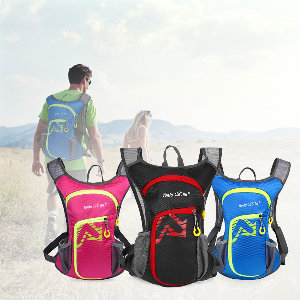997d04966b81 12L Nylon Outdoor Running Bags Hiking Cycling Riding Backpack Hydration Vest  Pack Sport Bag Multi-