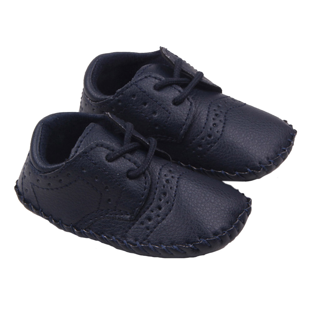 Baby Moccasins First Walker Suede Genuine Leather Cloth