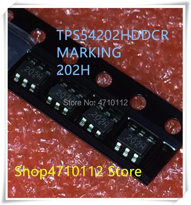 NEW 10PCS LOT TPS54202HDDCR TPS54202HDDCT TPS54202 MARKING 202H SOT23 6 IC