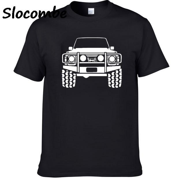 2018 Patrol Nissan Offroad 4x4 Y60 1 Y61 T Shirt Men Cotton T-shirt