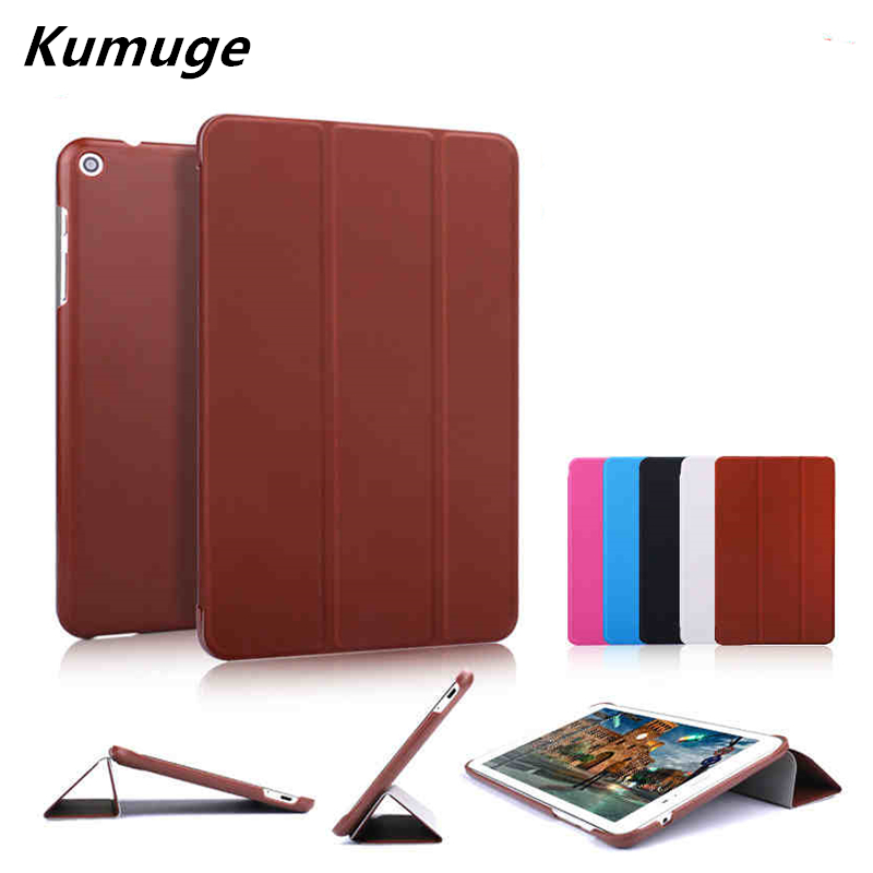 PU Leather Protective Cover Case For HuaWei MediaPad T1 8.0 Inch S8-701U S8-701W T1-821W T1-823L Tablet Case Shell +Stylus Pen