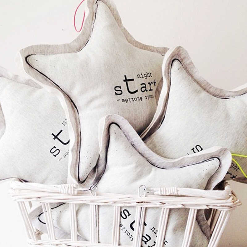 Creative игрушки 5 Форма Серебристые куклы подушка в сдержанном стиле узлом мягкие игрушки Дети Детская комната Декор Девушка светящиеся подарки