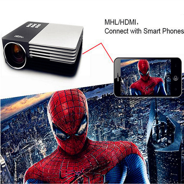 NEW Arrival!3D GM50 FHD Home Theater MINI Projector For Video Games TV Movie Support HDMI VGA AV Portable