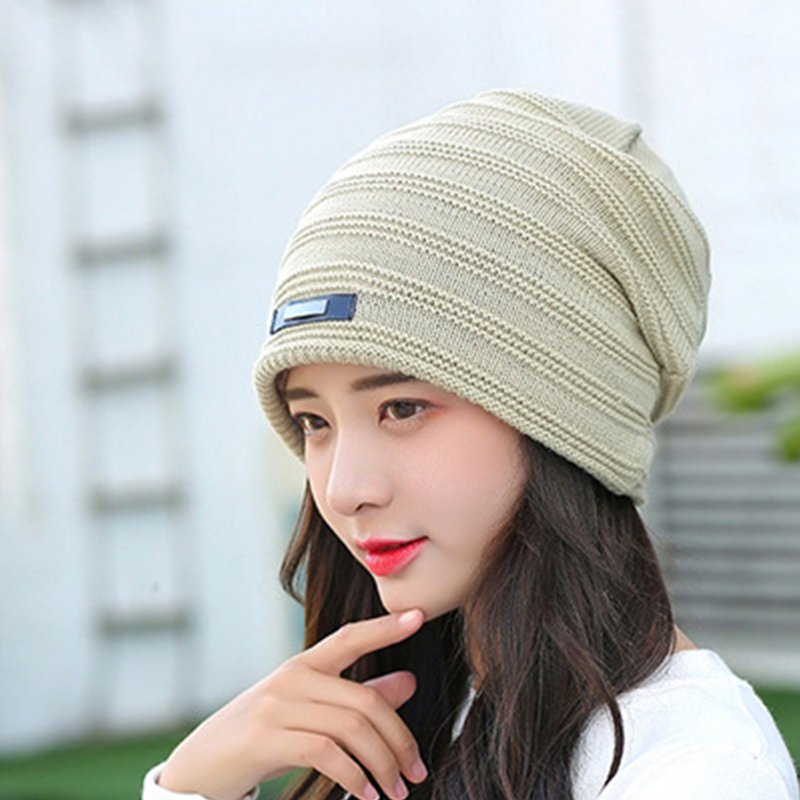 Autumn Beanie Winter Hat Women Crochet Knitted Beanies Cap Men Hat gorros Unisex Knitted Wool Warm bonnet femme skullies 2016 band beanies winter men knitted hat reversible beanie for new women unisex baggy warm skullies skull cap bonnets gorros