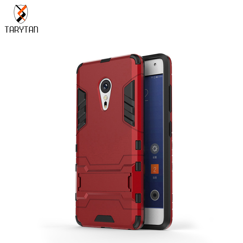 TaryTan Luxury TPU + PC Hybrid Kickstand 2 in1 Mobile Phone Cases For Lenovo ZUK Z2 Pro Covers Shell Armor Skin Hood housing bag