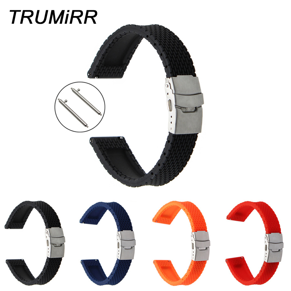 20mm Silicone Rubber Watchband Quick Release for Xiaomi Huami Amazfit Bip BIT PACE Lite Youth Watch Band Steel Clasp Wrist Strap 20mm 22mm stainless steel watchband quick release strap for amazfit huami xiaomi bip bit pace lite watch band wirst bracelet