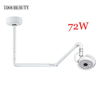 TDOUBEAUTY 72W Super Brightness Ceiling LED Surgical Exam Light Shadowless Lamp Pet Surgery Dental Department  (90V-240V) 800mm - DISCOUNT ITEM  0% OFF All Category