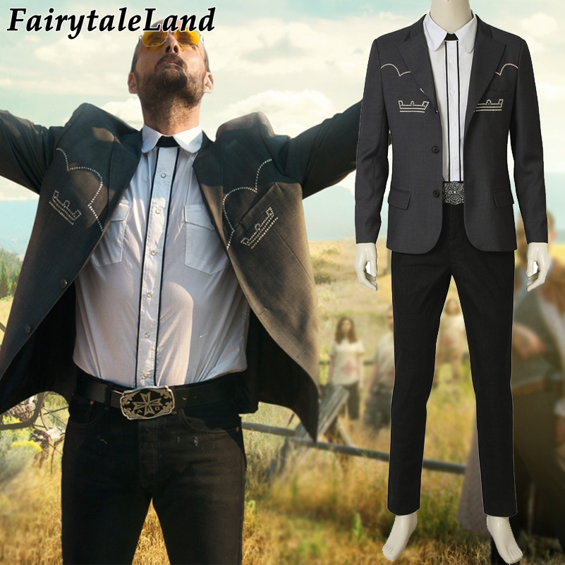 FAR CRY 5 Cosplay Inside Eden/'s Gate 'Father' Joseph Seed Costume Outfit Suit