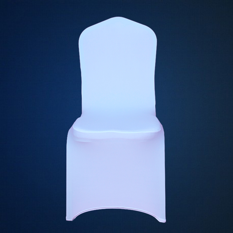 100pcs White Elastic Spandex Chair Cover Cheap Lycra
