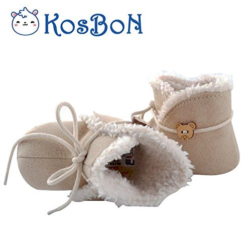 Winter Soft Bottom Fashion Tassels Baby Cotton Boot,Anti-skid Pure Color Lace-Up Warm Kid Boots,The Best New Year Gift For Kids