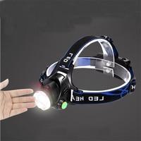 3000W LED hunting headlamp torch charging sensor bike headlight long range 18650 battery recharge head flashlight fishing lamp