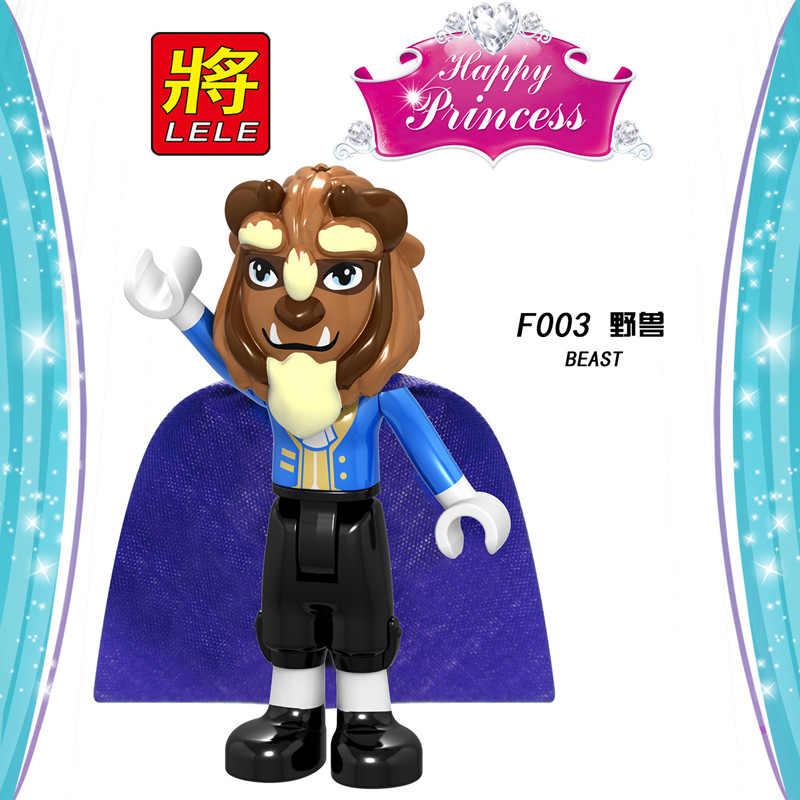 Legoing Gli Amici Della Ragazza Della Principessa Cenerentola Mermaid Belle Blocchi di Costruzione Giocattoli per I Bambini Assemblare Amici Legoing Blocco