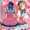 Nuevo Japonés Anime Love Live Minami Kotori Ídolo Proyecto Escuela Caramelo LoveLive Uniforme de Sirvienta Princesa Vestido Lolita Cosplay Traje