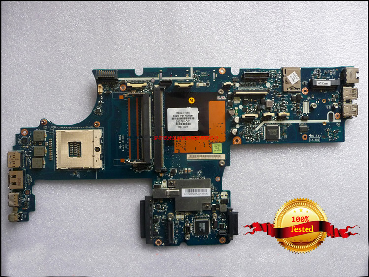 Top quality , For HP laptop mainboard 8540P 595764-001 laptop motherboard,100% Tested 60 days warranty  free shipping 595764 001 kaq00 la 4951p for hp elitebook 8540p 8540w series laptop motherboard all functions 100