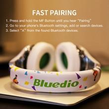 Bluedio Air foldable bluetooth headphones BT4.1