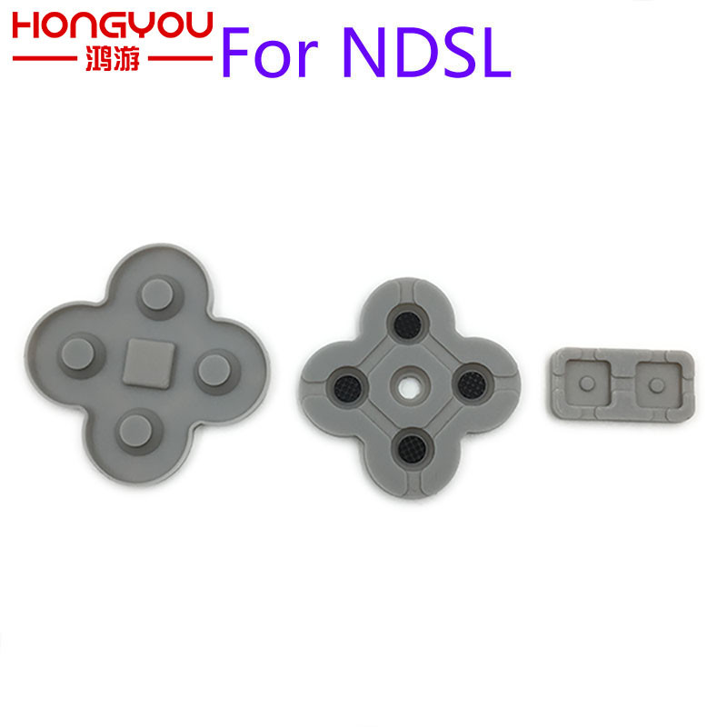 For DS Lite Conductive Rubber Button Pad Set Replacement Part For NDSL DSL Silicon Buttons