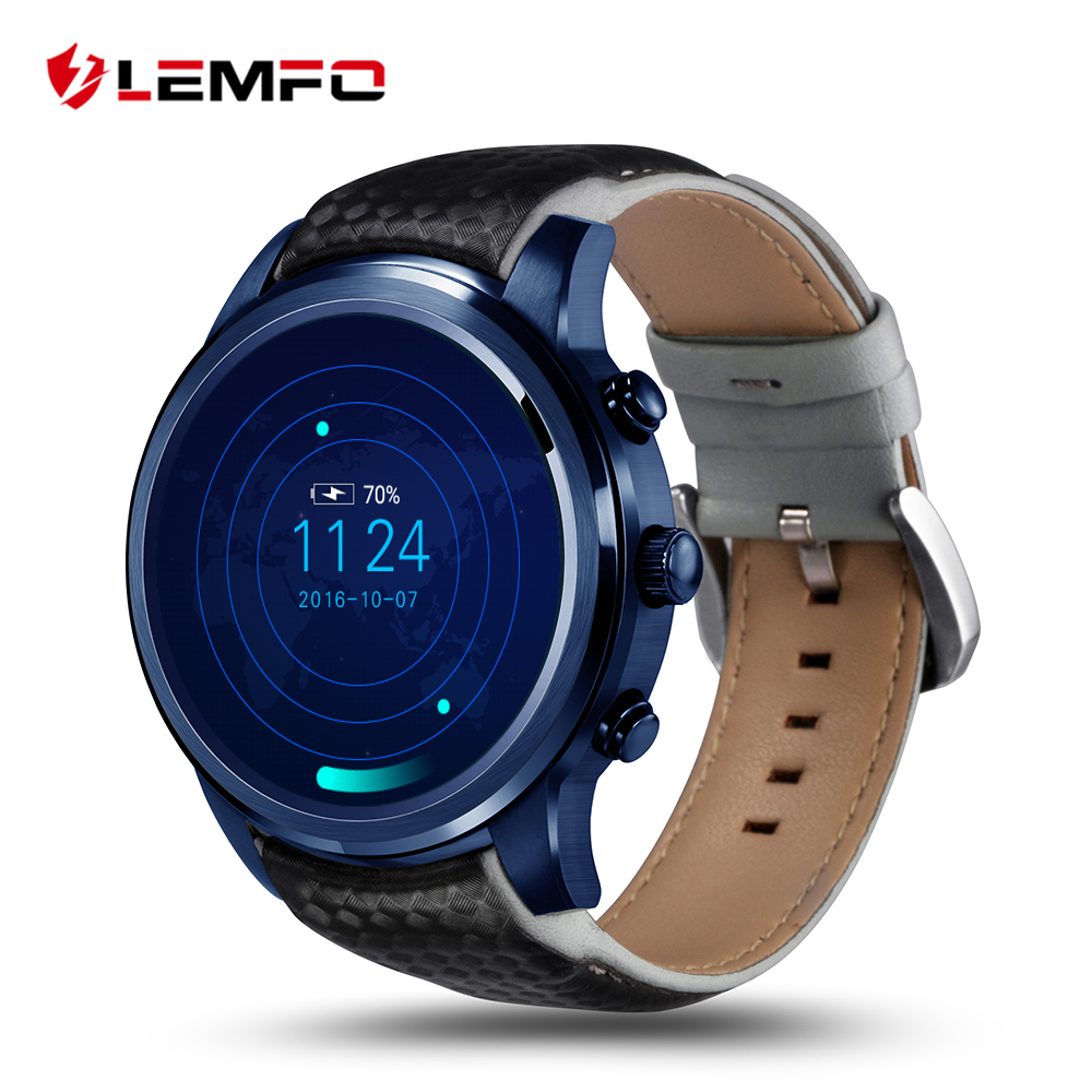 LEMFO LEM5 Pro Смарт часы Smartwatch Android 5,1 телефон 2 ГБ + ГБ 16 gps Wi Fi Bluetooth
