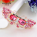 Korean Fashion Butterfly crystal top clamp all-match girls hair wholesale manufacturers headdress sold Taobao HOT Sale CHG-042