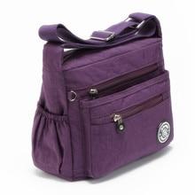 J-BG PinK Women Messenger Bags Nylon Canta Shoulder Bags Handbags Famous Brands Designer Crossbody Bags Female Bolsa sac a Main