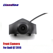 Liandlee AUTO CAM Car Front View Camera Grill Embedded For Audi Q7 2016 2017 ( Not Reverse Rear Parking Camera )