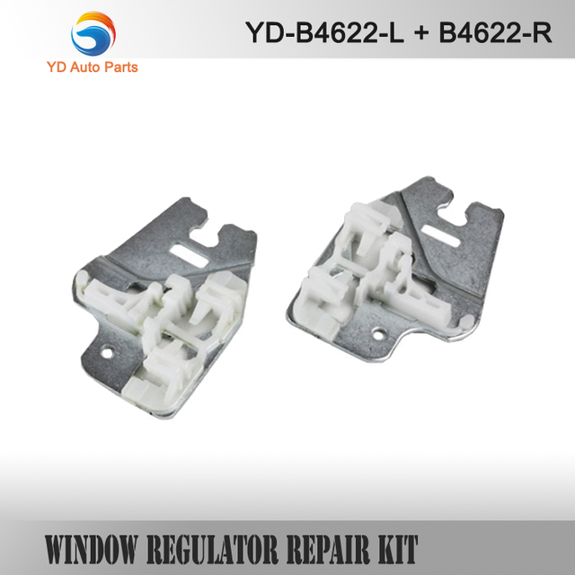 YD CAR STYLING PARTS FOR BMW E46 WINDOW REGULATOR REPAIR CLIPS with METAL SLIDER FRONT RIGHT or LEFT