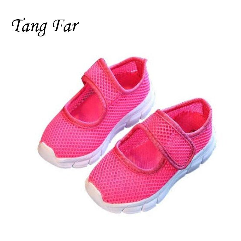Holes Net Sandals Kids Candy Light Children Classic Soft Shoes Elastic Girls Sandal Hollow Out Kid Net Sport Shoes