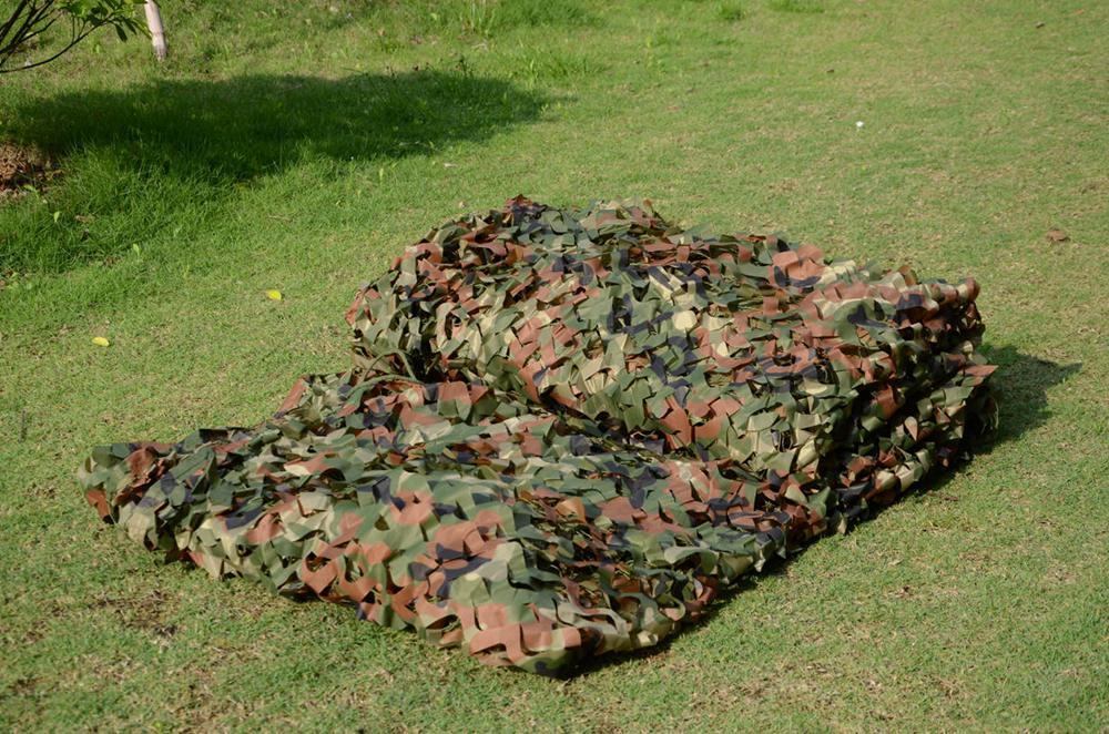 Prix pour VILEAD 2 M * 4 M Chasse Camouflage Militaire Net Woodland Armée Camo filet vente Chaude Camping Abri Du Soleil Tente ombre Net