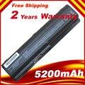 5200 mAH batería para HP pavilion 1290es dv6 HSTNN-IB72 HSTNN-LB72 HSTNN-LB73 HSTNN-UB72 HSTNN-UB73