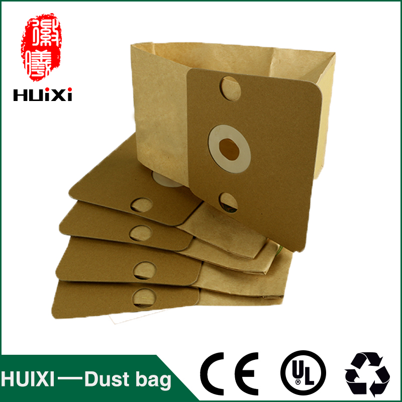 10 pcs Paper Dust Bags Vacuum Cleaner change Bags With High Efficiency  For RO121  RO400  RO410 etc 1 pcs universal vacuum cleaner non woven bags and washable dust bags with high efficiency for ro1121 ro1124 etc