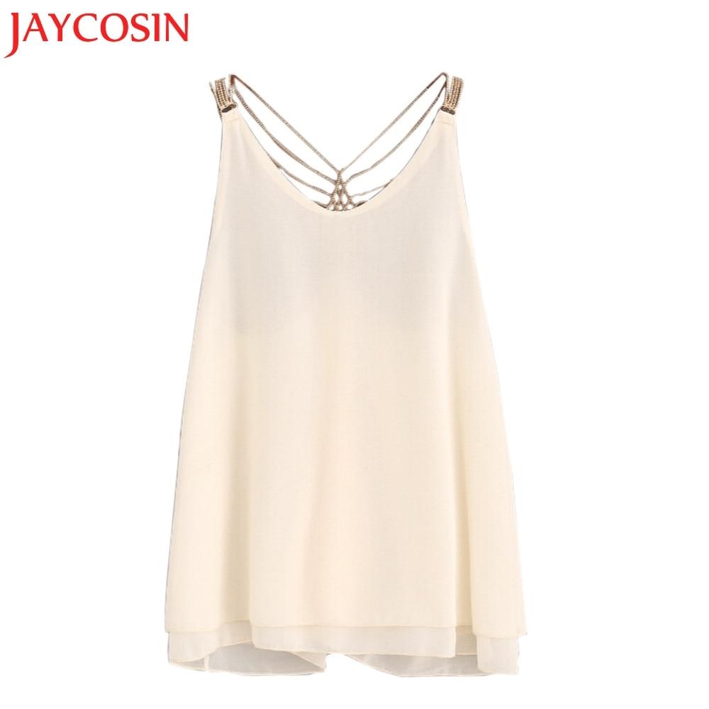 SIF Hot! Wonderful New Shirts Fashion Women Sleeveless Crop Tops Vest Backless Halter Tank Tops Blusas T-Shirt Drop Shipping 805