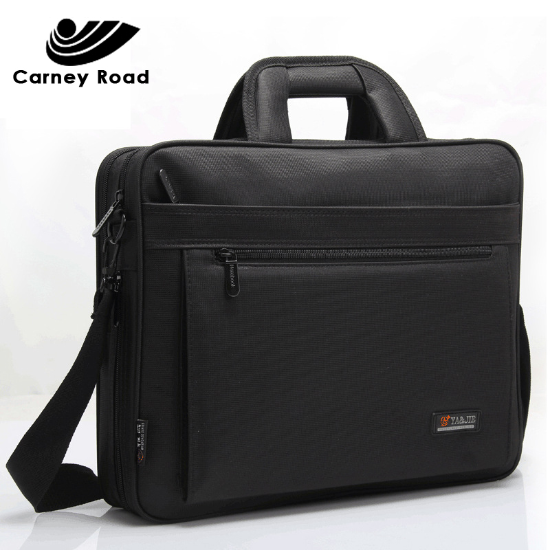 2019 Brand Business Men Briefcase 15.6 Inch Laptop Handbag Casual Messenger Shoulder Bag For Men Fashion Office Bag