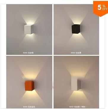 3 W LED backlight studie slaapkamer bed hotel gang trappen creatieve ...