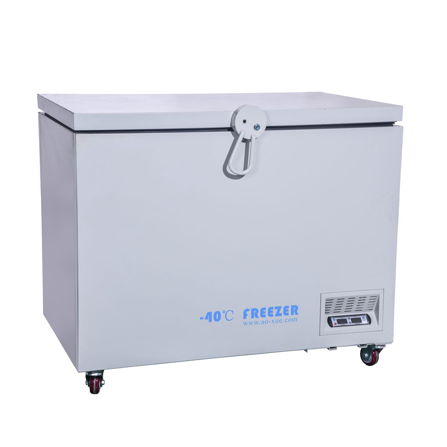 DW-40W258L  -40degree Horizontal Electric Deep Freezer Pharmacy Lab Refrigerators Industrial Refrigeration Cooling Chamber