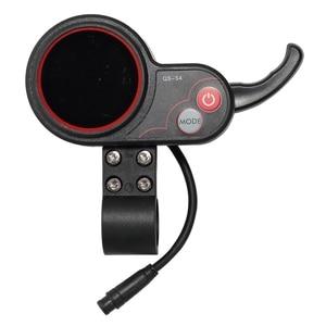 Image 5 - Led anzeige Drossel für Elektrische Roller Speedual Mini Plus Gnade Null 8 9 10 8X 10X 11X QS S4 LCD Macury 36V 48V 52V 60V 72V