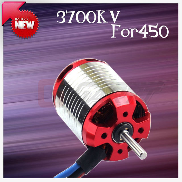GARTT 3700KV 330W  Brushless Motor For 450 Align Trex RC Helicopter