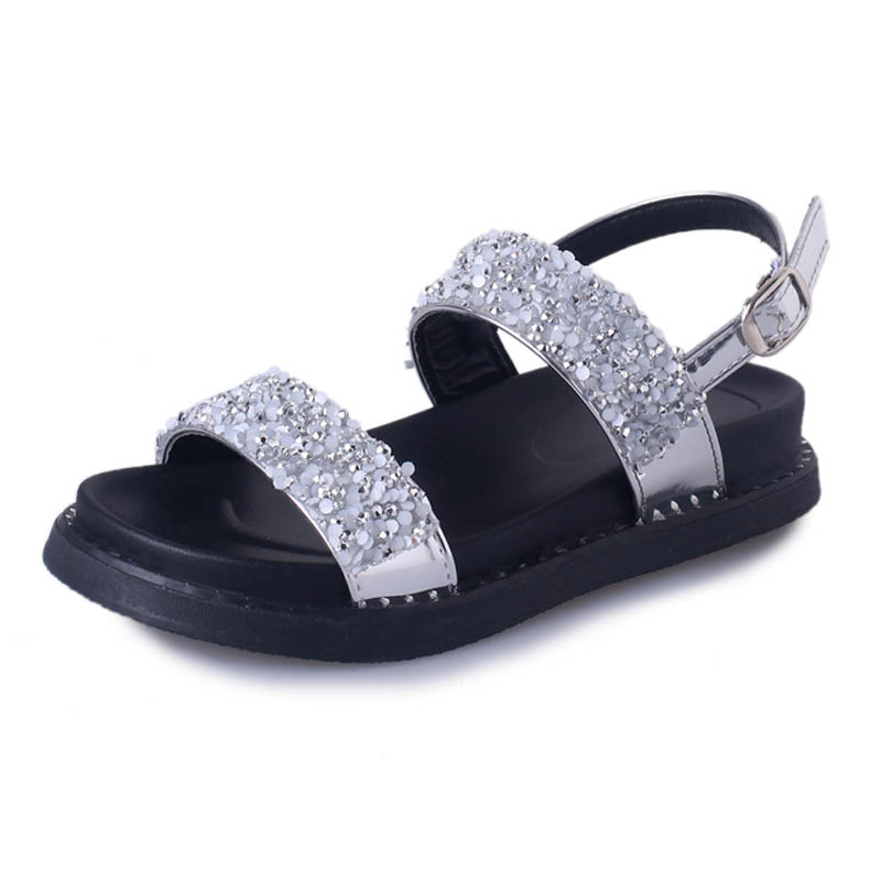 Nouveau Femme Gladiateur Plate Femmes GrisY0744513q Confortable Dames Sandales forme Printemps Noir Chaussures Rouge argent Plat Été Noir 0nOPX8wk