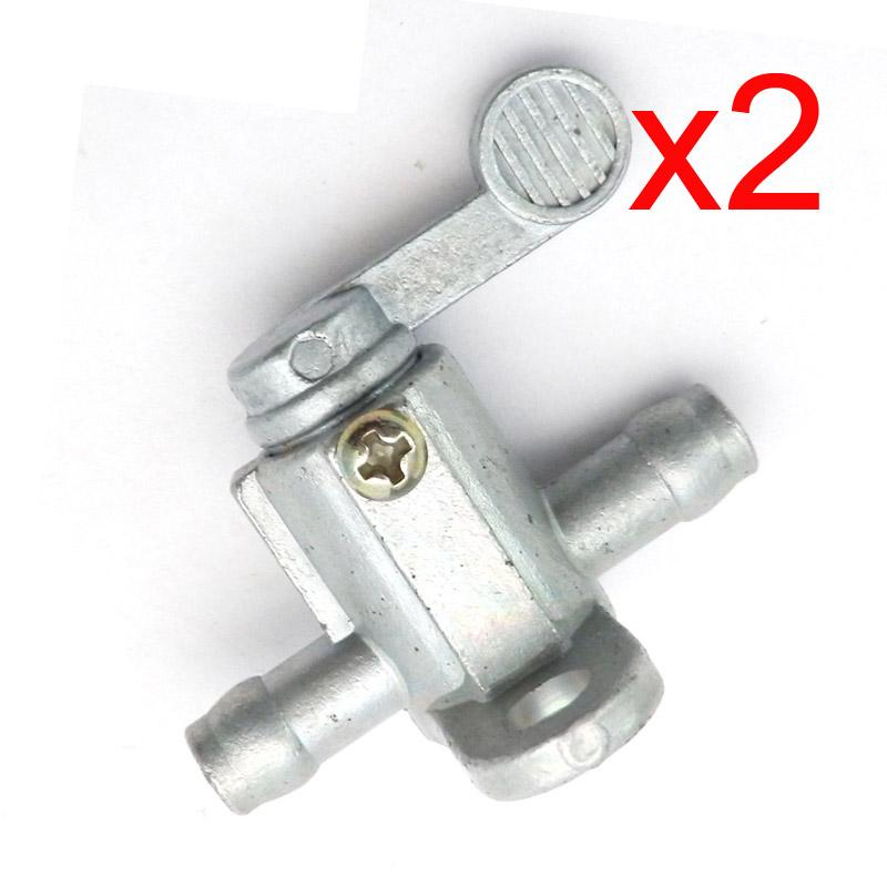 8mm Motorcycle Oil Taps Fuel Tank Petcock Gas Switch Valve for ATV Motorcycle