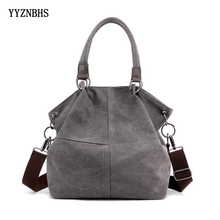 Hot Brand Canvas Bag Tote Bags Women Handbag Shoulder Female Messenger Crossbody Bolsa Feminina Sac A Main