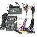 O envio gratuito de liga de Alumínio Nova atualização IV TV/LCD/TESTE LEVOU FERRAMENTA KIT SET + LCD/LED Tela LVDS linha de teste 16/pcs + 12 V 4A Poder