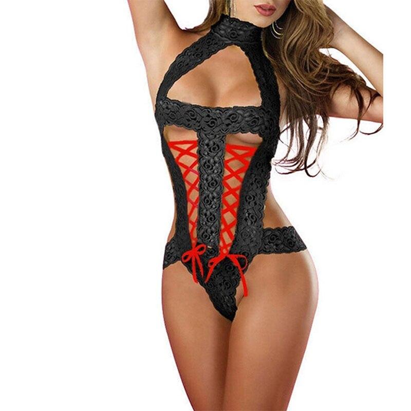 Valentine's Day Sexy Lingerie Sexy Nightwear Underwear Porn Sexy Lingerie Women Hot Erotic Baby Dolls Dress Women Teddy Lenceria