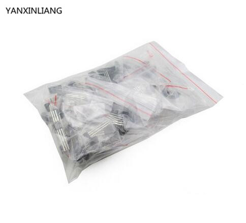 120pcs 78L05 78L06 78L08 78L09 78L12 78L15 6values Each 20pcs Transistor Package Assorted Kit