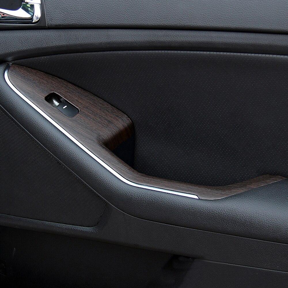 LEEPEE 3D Car Stickers Auto Decors 30*100cm PVC Wood Grain Textured Protective Car Wrap Film 4 Colors Car Styling